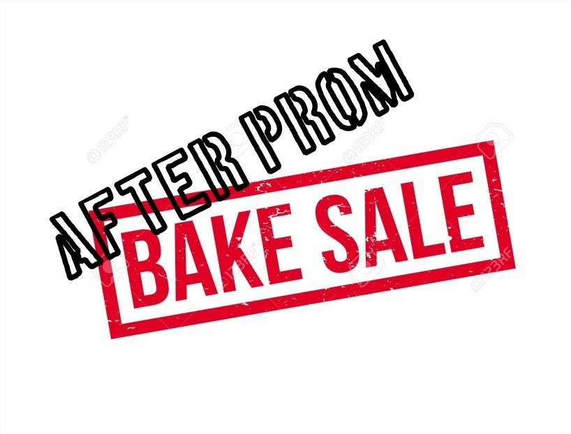 After prom Bake Sale