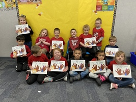 Kindergarten writes a book!