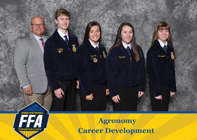 WCHS FFA Agronomy Team 2019 Reserve National Champion Team