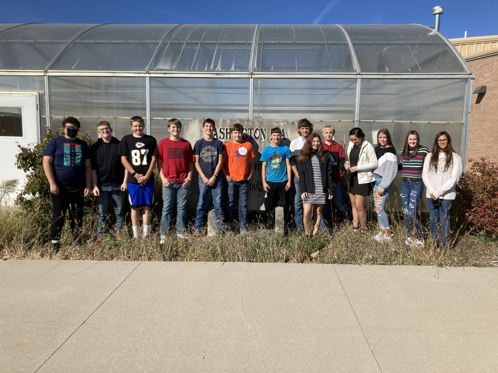 WCHS Greenhand Land Judging Team