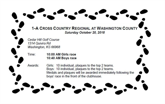 Regional cross country 10/20