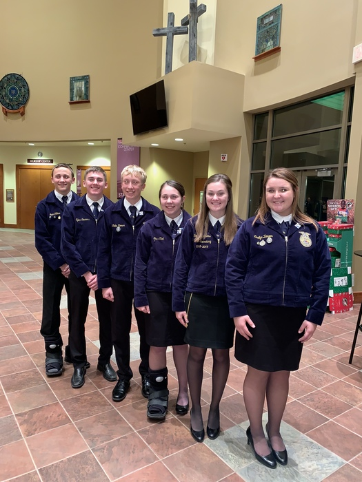WCHS FFA Parliamentary Procedure Team