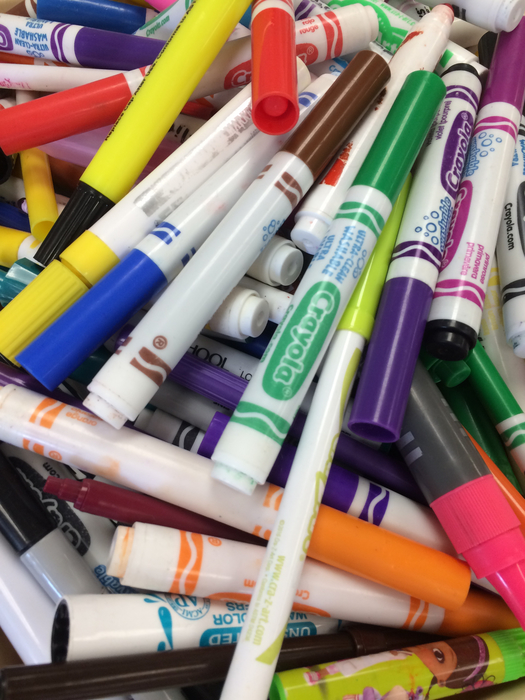 Got Dried Up Markers!? We know what you can do with them!