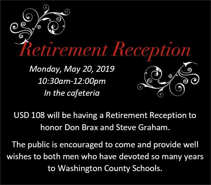 retirement reception 2019
