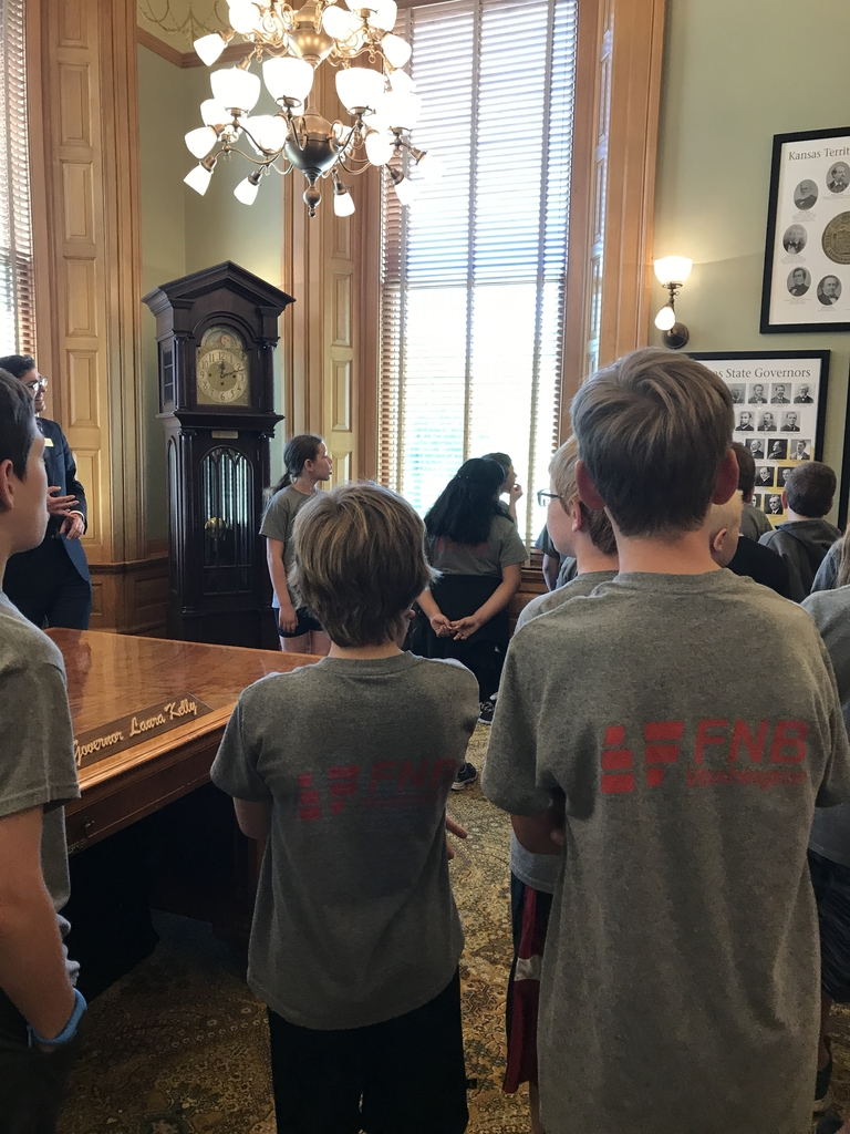In the governor's office