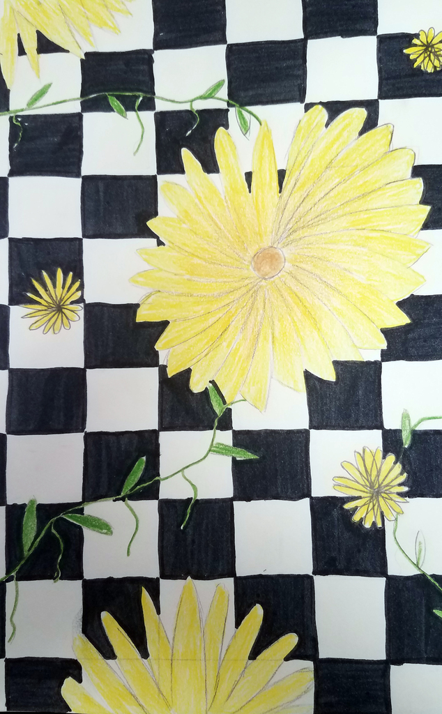 checkerboardflowers