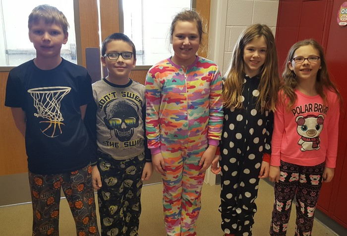 Great Day for Up Day-pajama day