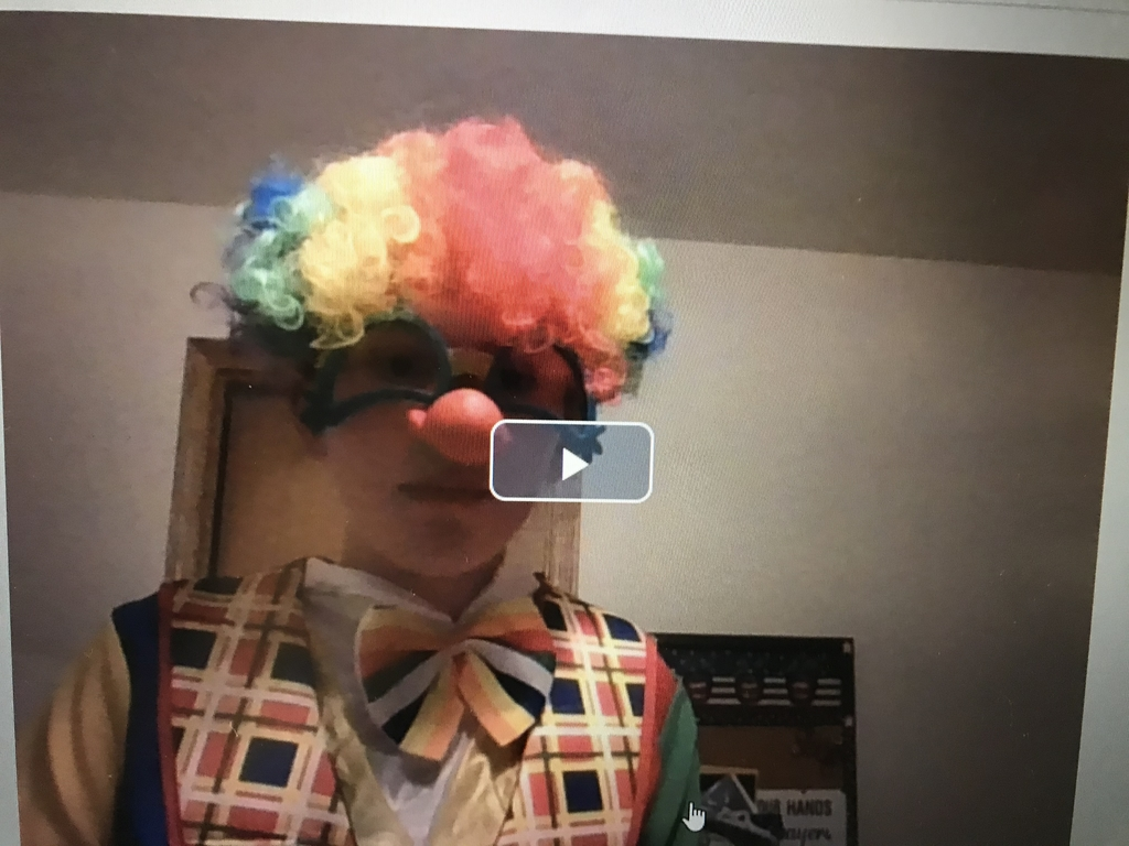 No clowning around!